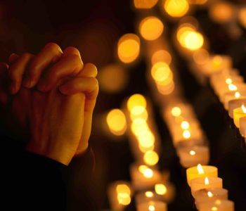 Praying With Candles