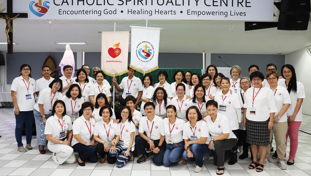 Hospitality Ministry at Catholic Spirituality Centre (CSC) Singapore